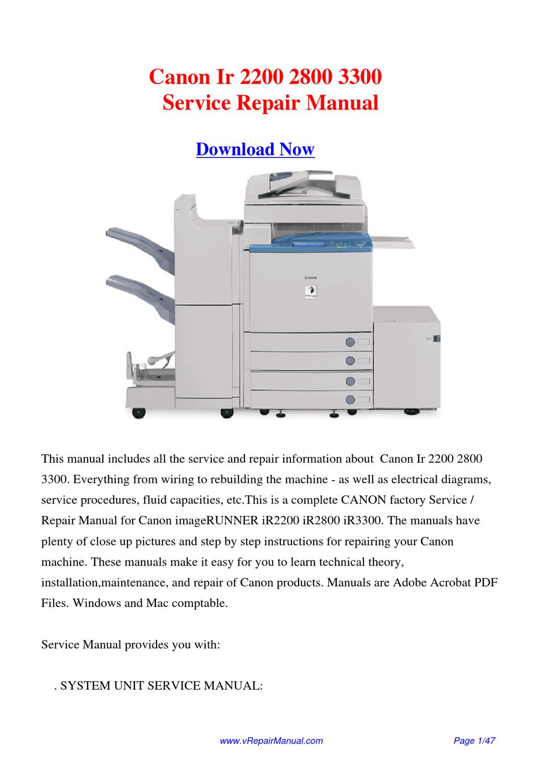 CANON SCANNER IR2200 DRIVER (2019)