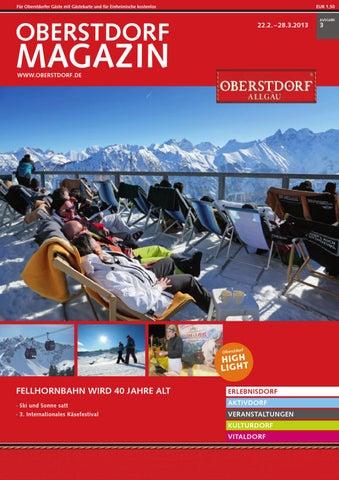 Oberstdorf Magazin 3-2013