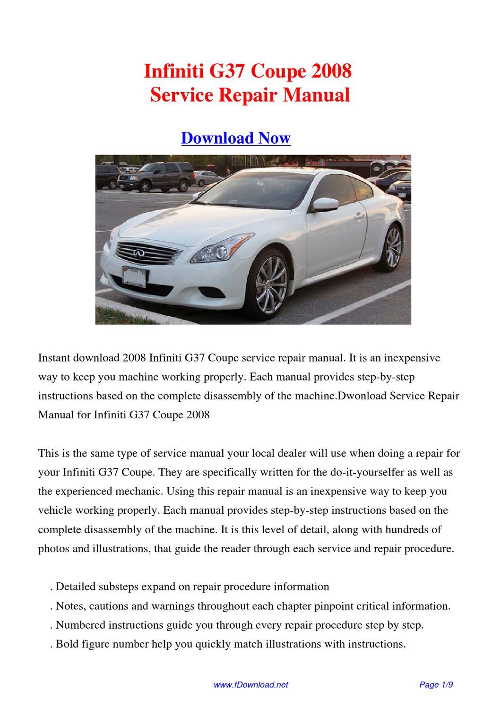 2009 Infiniti G37 Manual For Sale Manual Guide