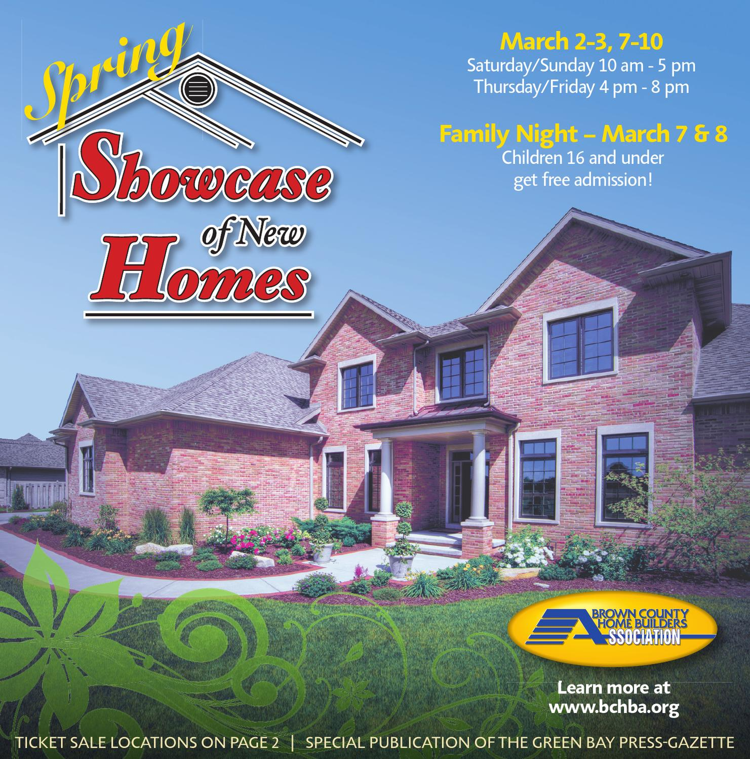 Spring showcase of new homes by gannett wisconsin media for Home builders wisconsin