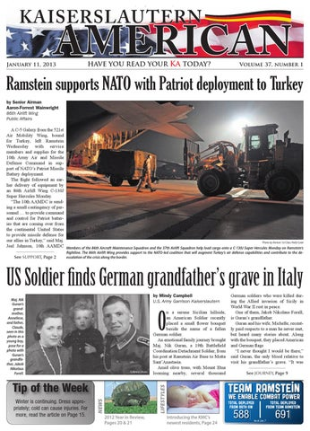 Jan 11, 2013 - Kaiserslautern American