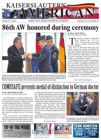 Mar 9, 2012 - Kaiserslautern American