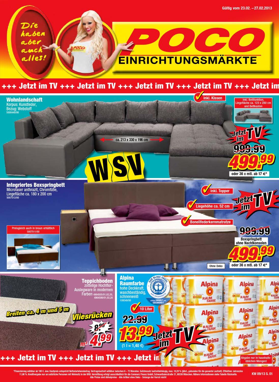 poco prospekt 23 27 februar 2013 by issuu. Black Bedroom Furniture Sets. Home Design Ideas