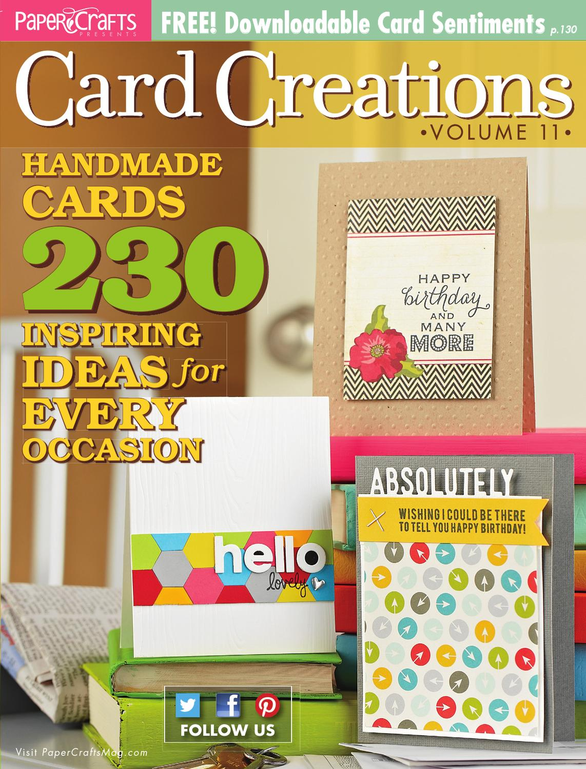 Card Creations Magazine Paper Crafts