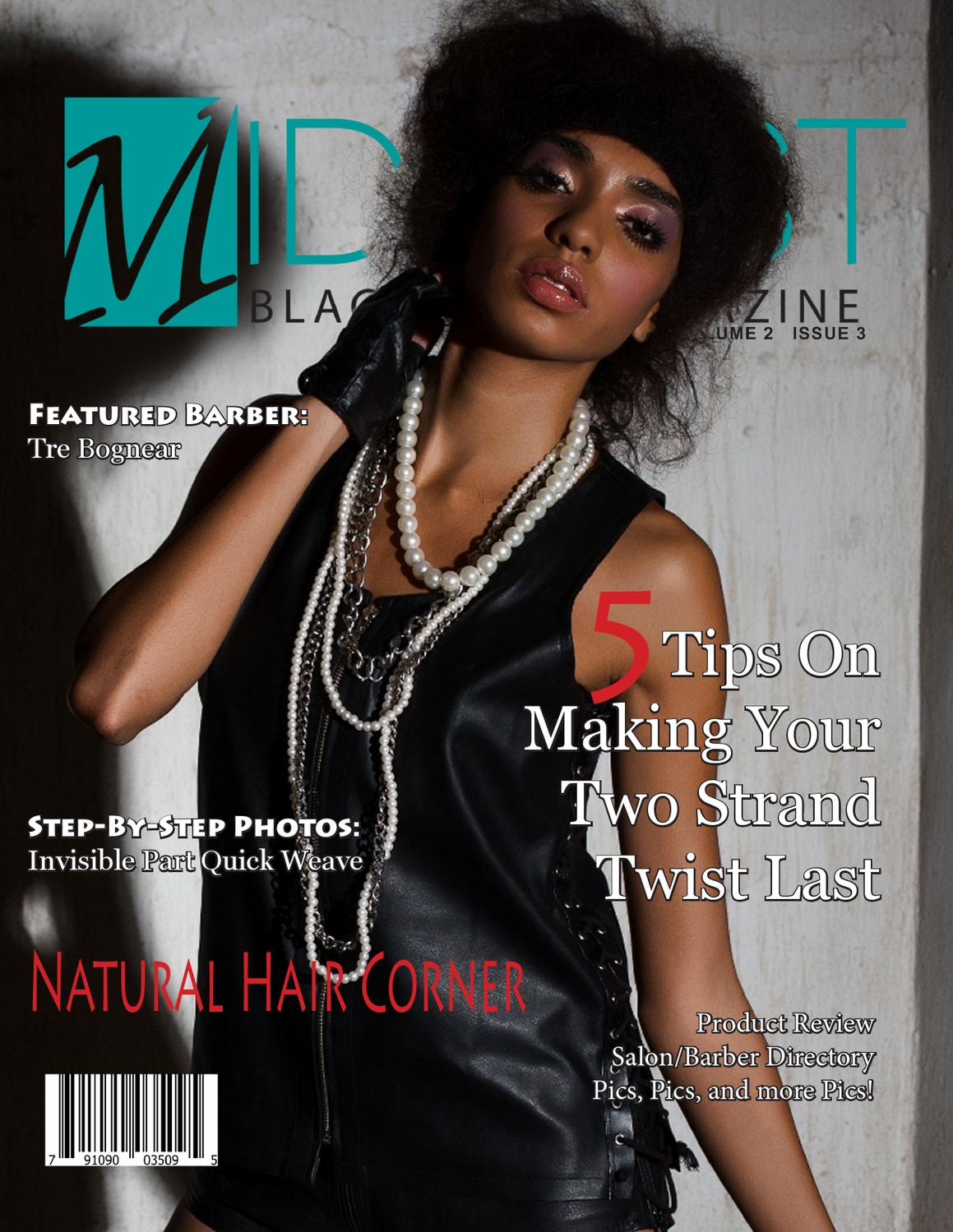 Hair Magazine Websites: March 2013- Midwest Black Hair Magazine By Midwest Black