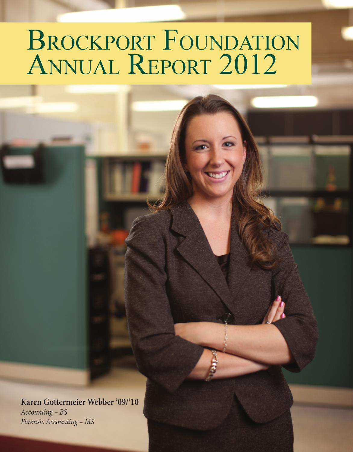 mka annual report by montclair kimberley academy issuu brockport foundation 2012 annual report
