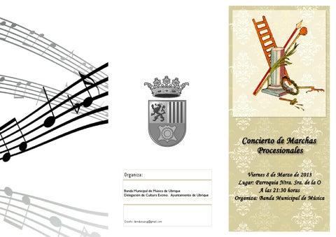Concierto de Cuaresma 2013 Banda Municipal de Música de Ubrique