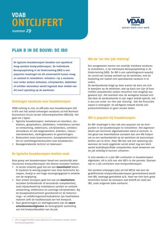 Plan B in de bouw: de IBO