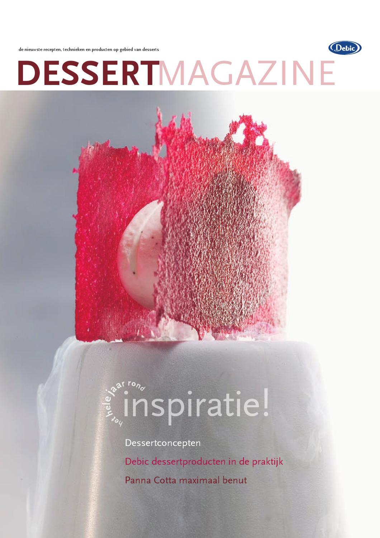 Debic dessertmagazine 2006 by frieslandcampina professional   issuu
