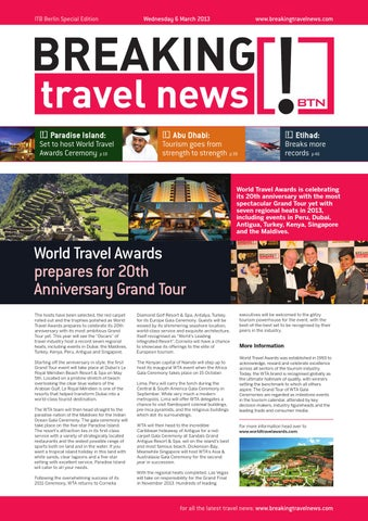 Breaking Travel News Special Edition - ITB Berlin 2013 Day 1