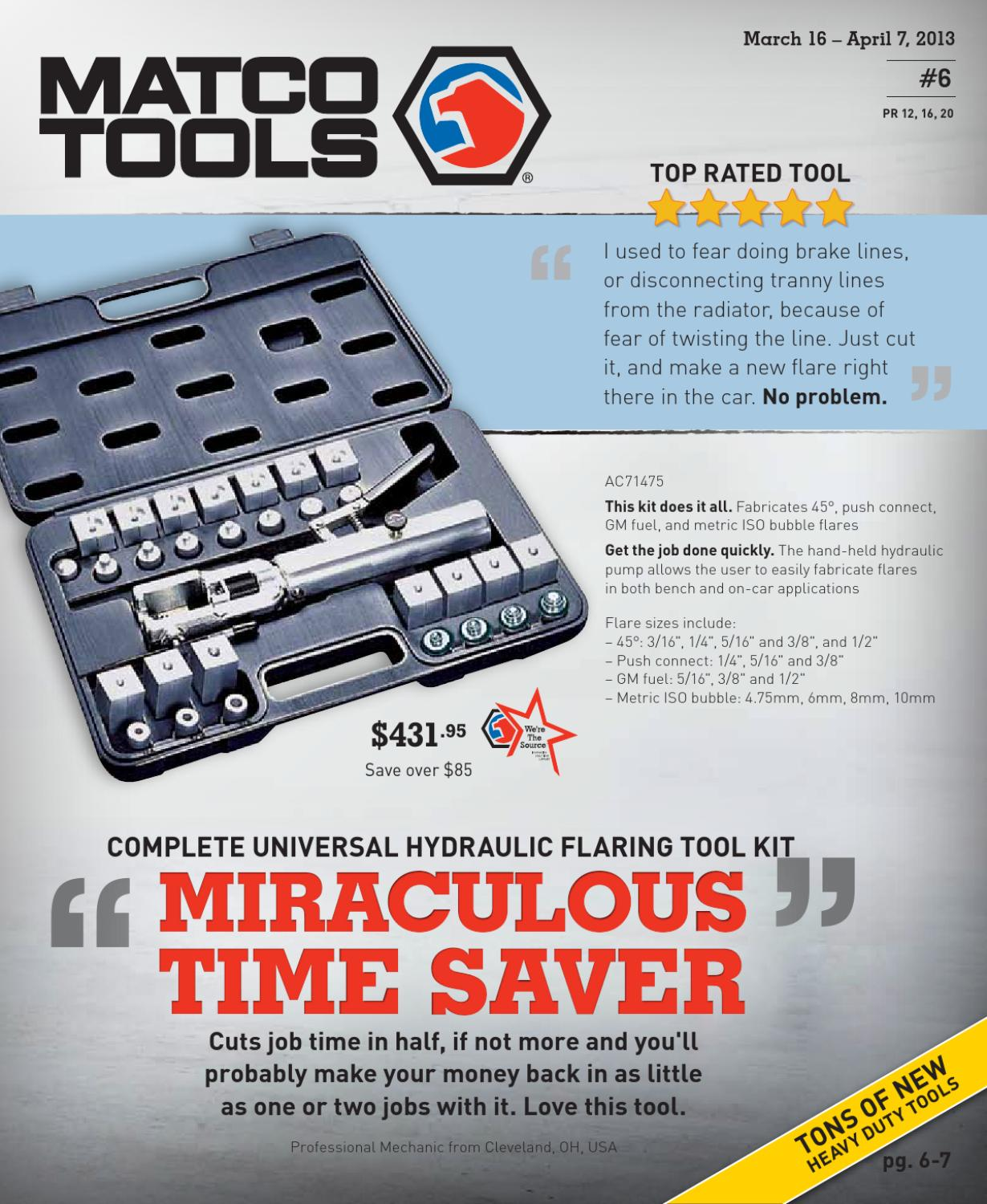 Matco Tools Sales Flyer #6 By Bill Amereihn