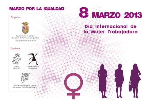 Día Internacional de la Mujer Trabajadora 2013