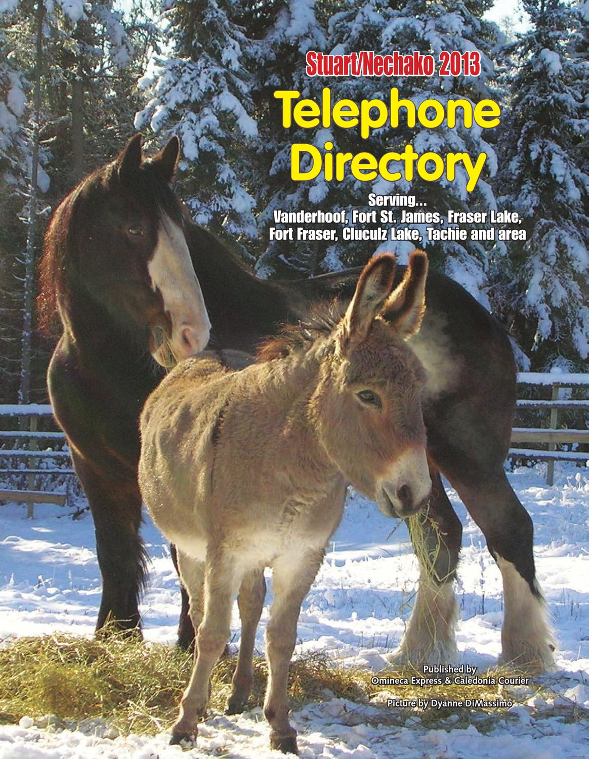 Special Features - Phone Directory by Black Press - issuu