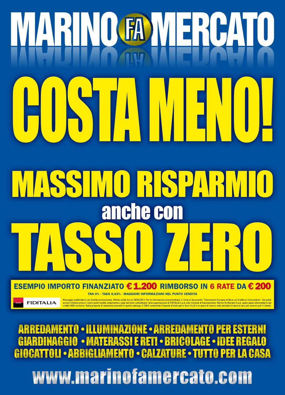 Marino fa mercato offerte pasqua 2013 by marino fa for Marino fa mercato letti