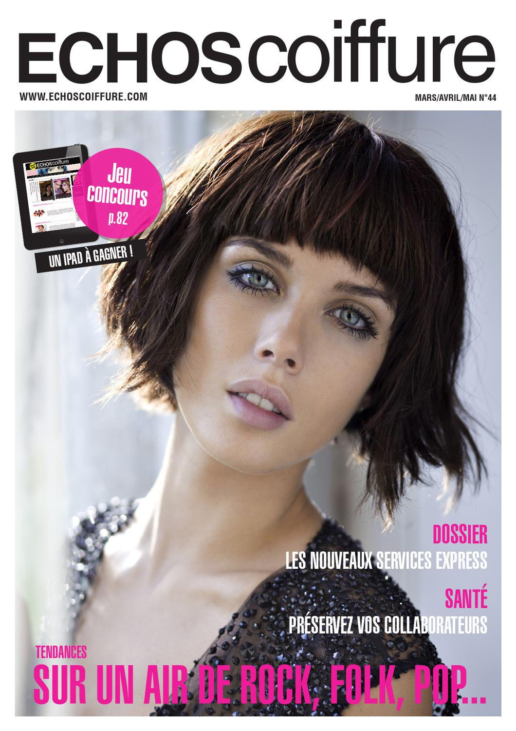Echos coiffure france n°45 by eurobest products   issuu