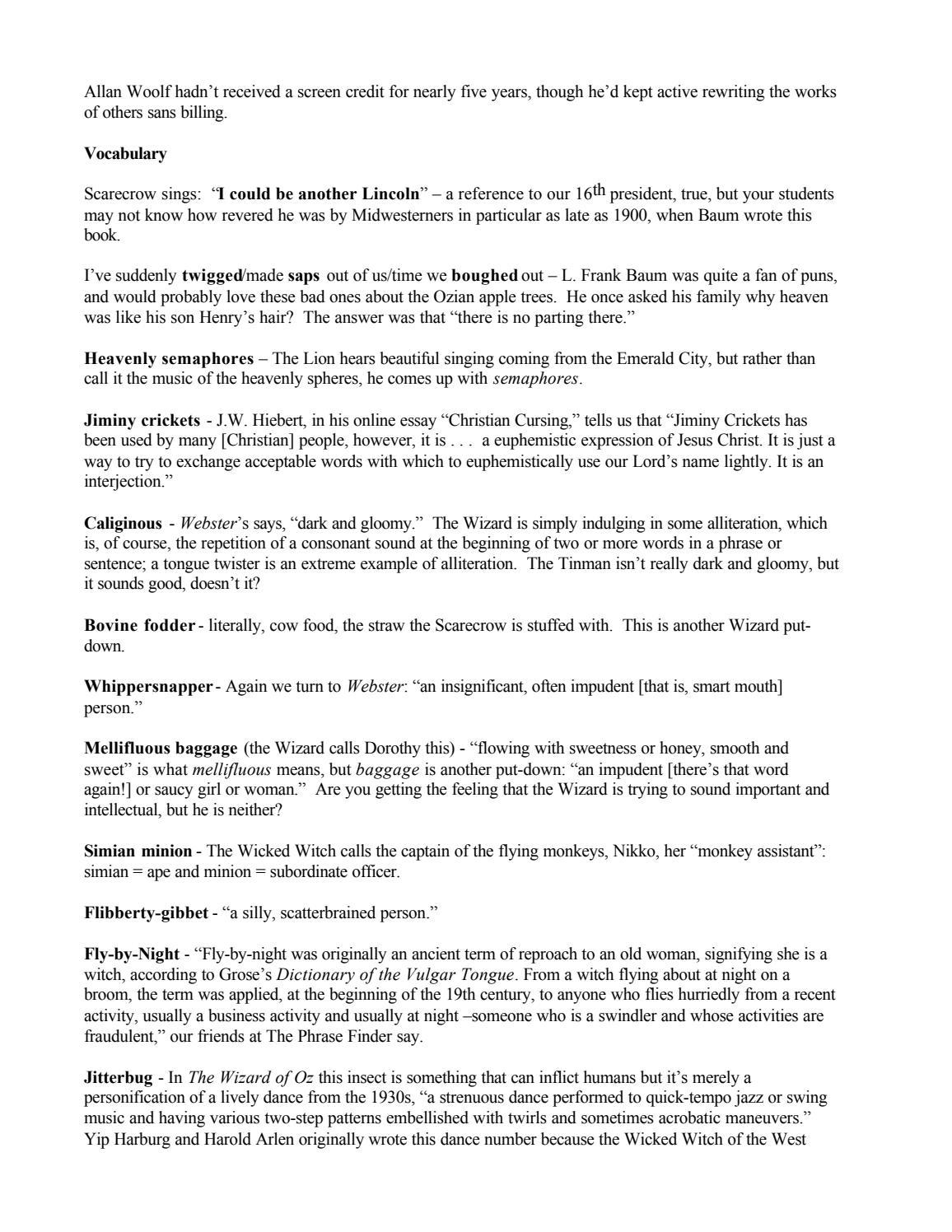 the wizard of oz by syracuse stage page 24