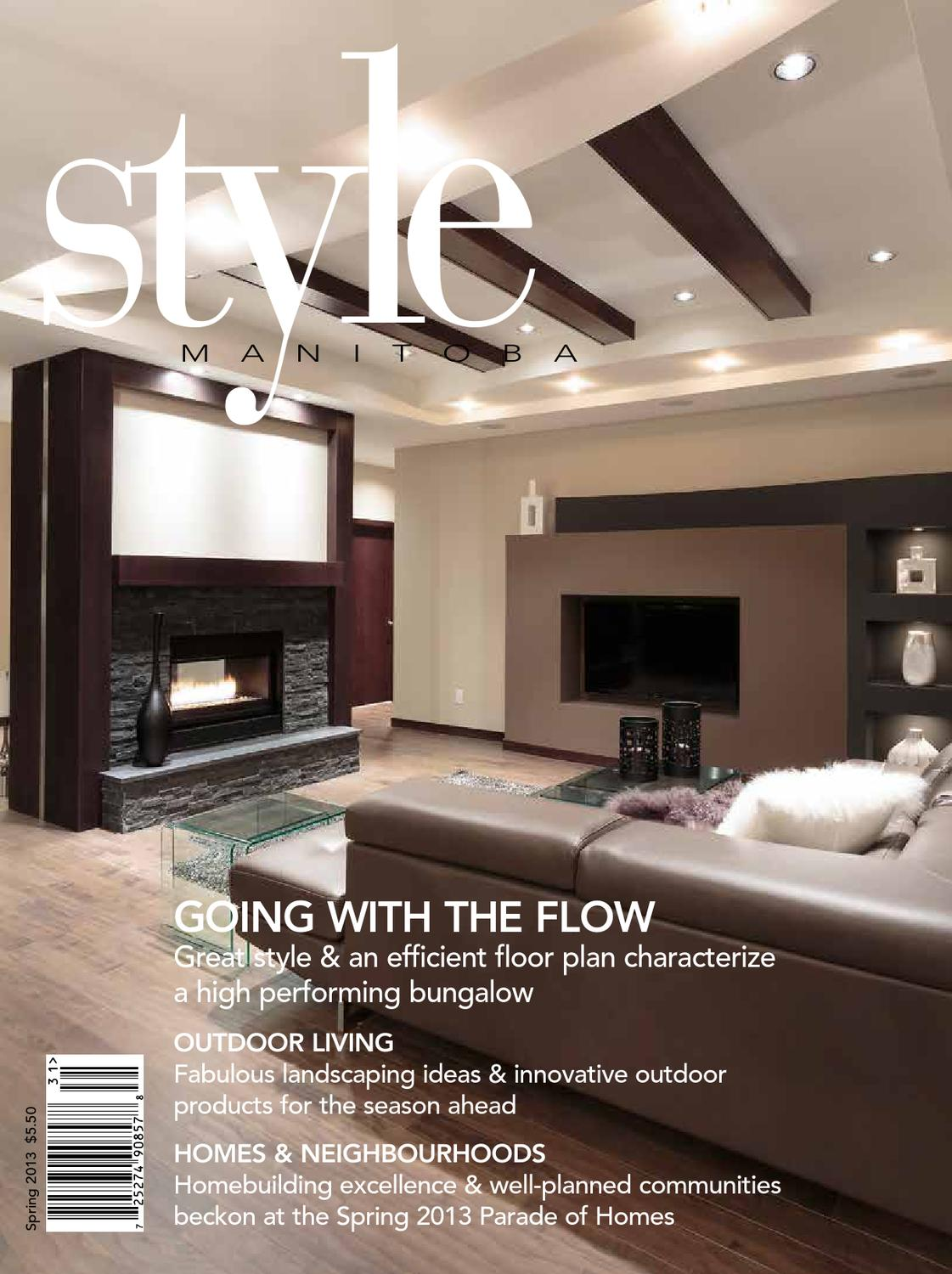 Parade Of Homes Floor Plans Style Manitoba Spring 2013 By Style Manitoba Issuu