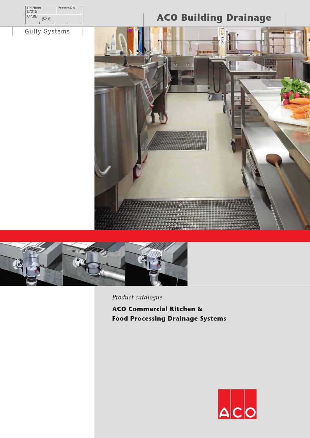 Aco ck fp drainage systems technical brochure by aco for House drainage system pdf