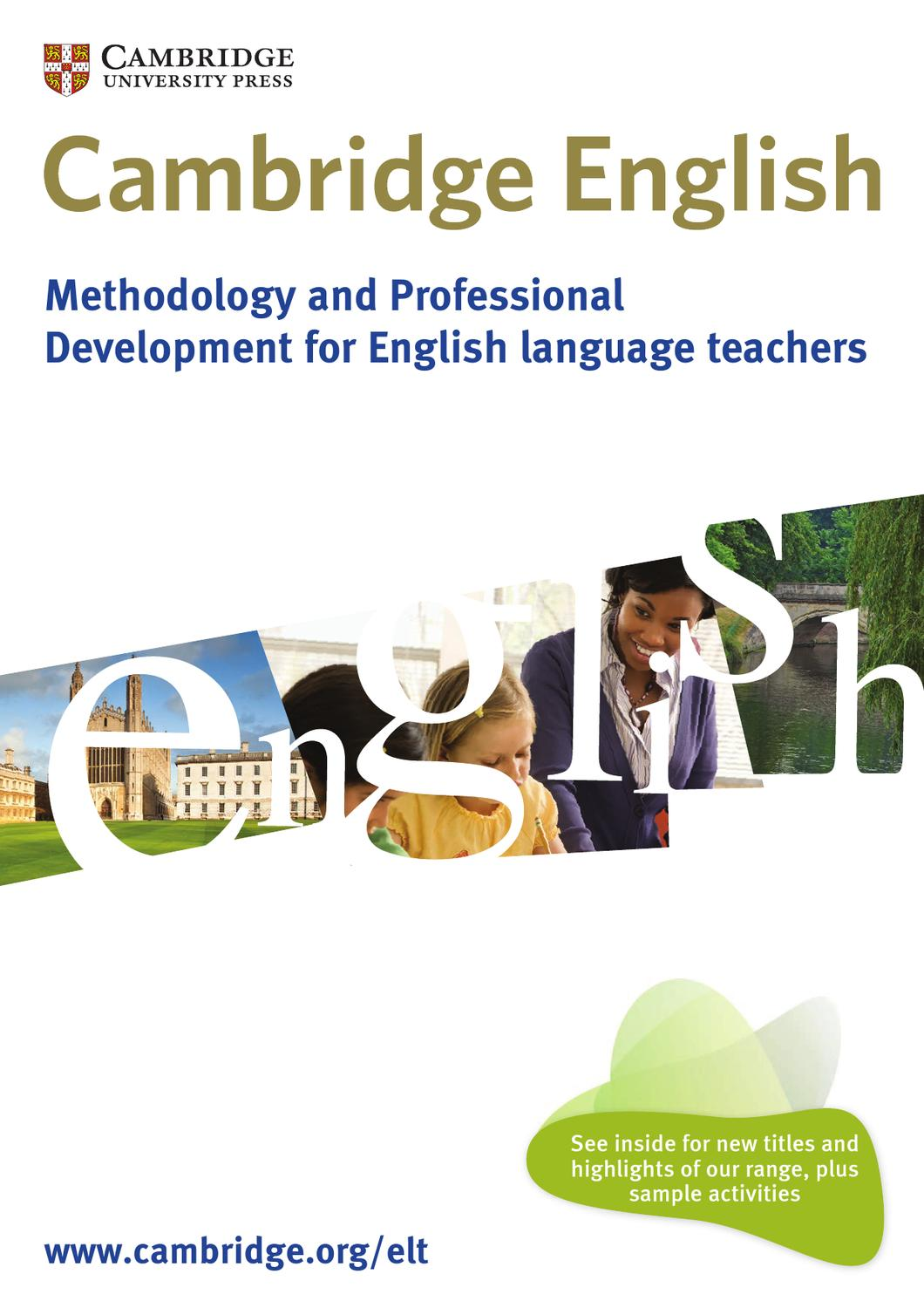 English In Italian: Methodology And Professional Development For English