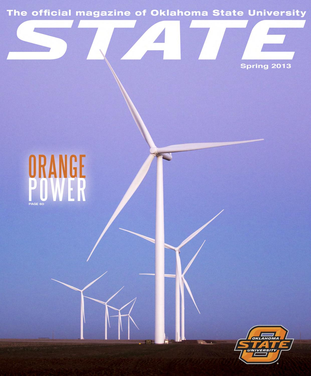 Top Superior State Cars Of World Leaders: STATE Magazine, Spring 2013 By Oklahoma State