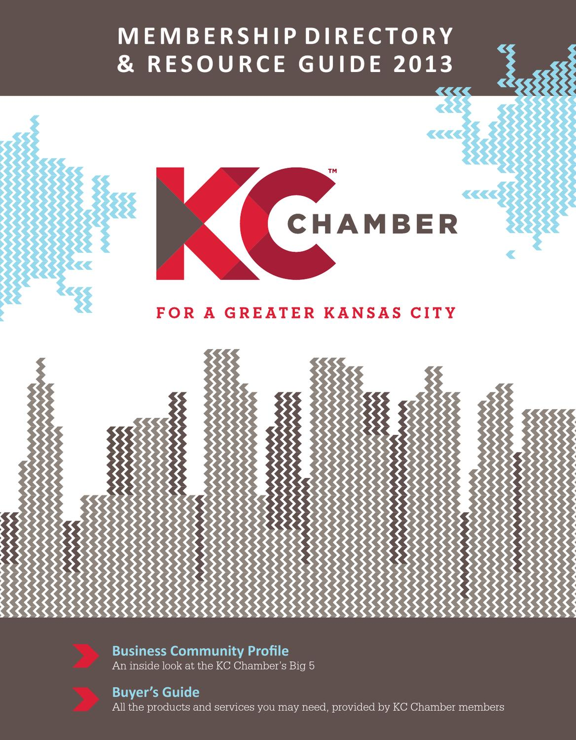 2013 Member Directory By Greater Kansas City Chamber Of