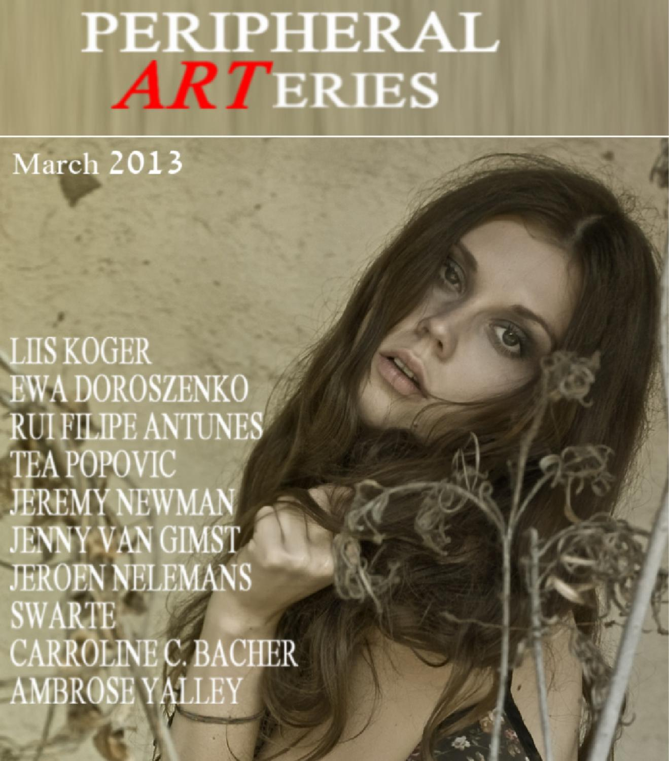 Peripheral arteries art review   march 2013 by artpress   issuu