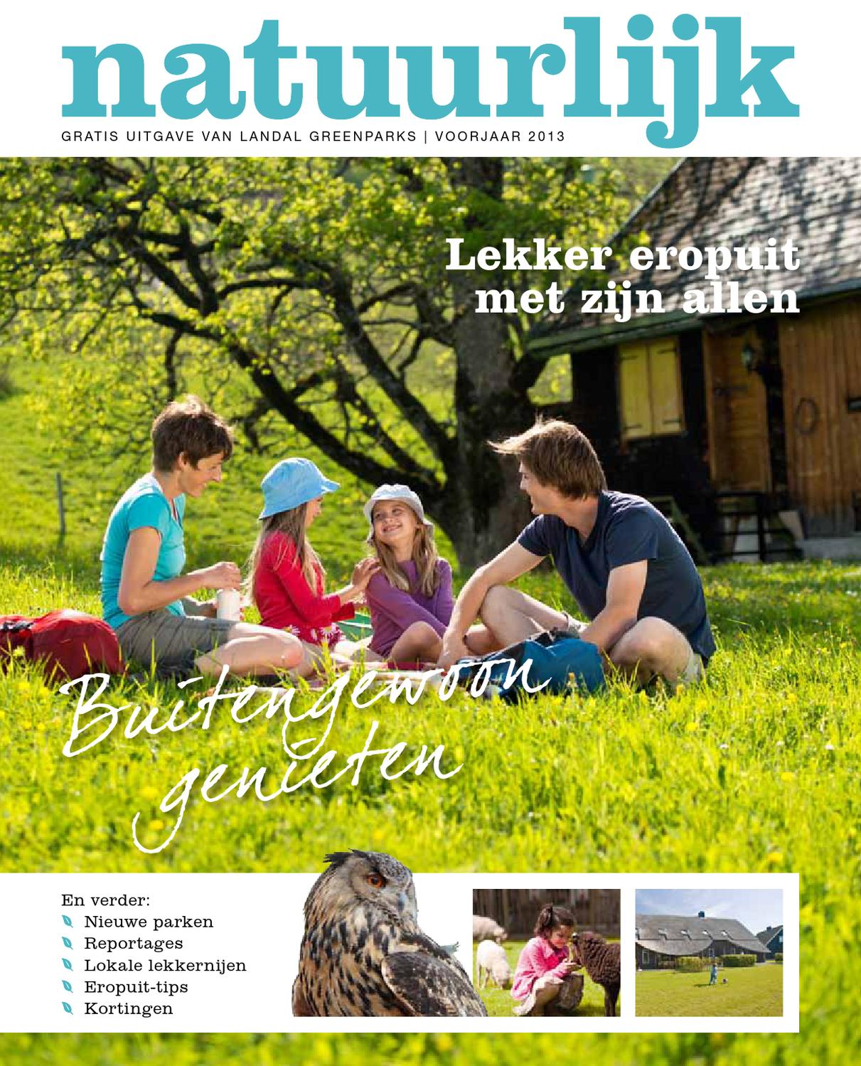 Natuurlijk voorjaar 2015 - Landal GreenParks by Landal GreenParks ...