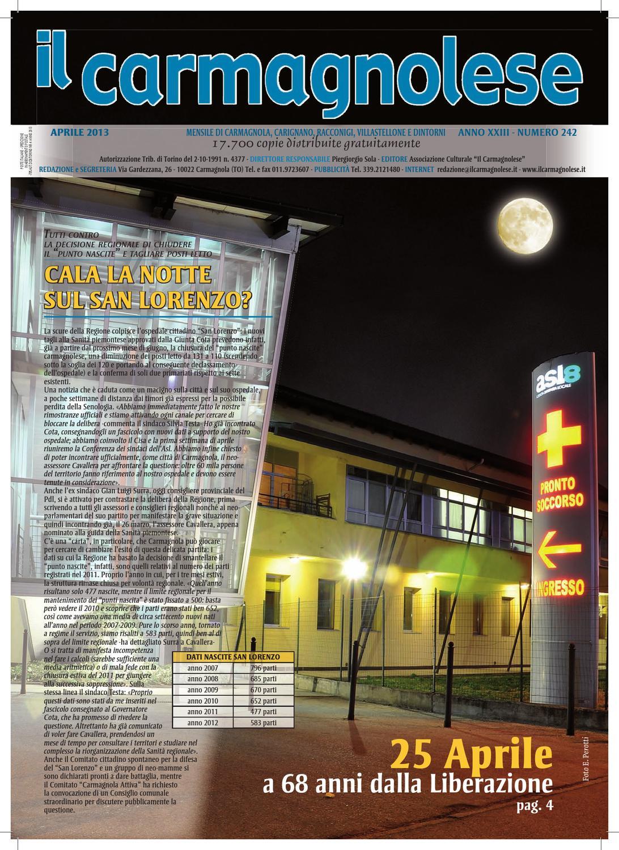 Il Carmagnolese - Dicembre 2012 by Redazione Il Carmagnolese - issuu