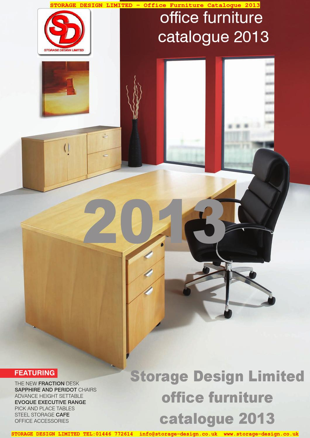 office furniture catalogue 2013 from storage design limited by storage