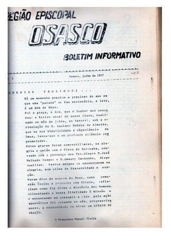 [Bio Região Episcopal Julho 1977]
