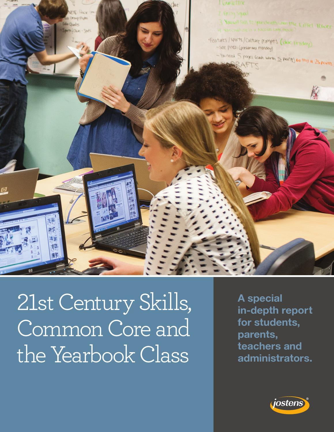 21st century skills common core and the yearbook class by jostens 21st century skills common core and the yearbook class by jostens issuu