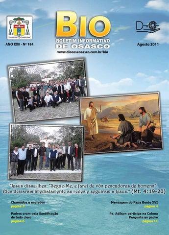 [Bio Diocesano Agosto 2011]