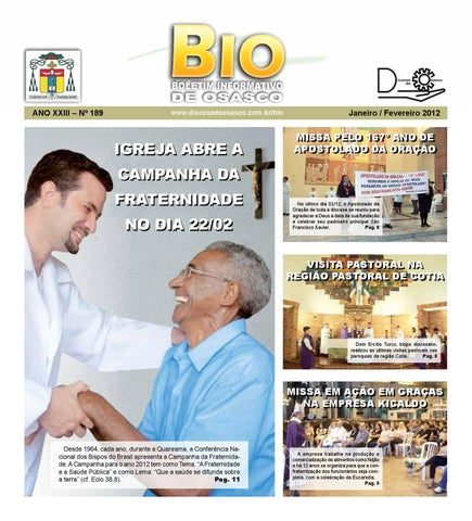 [Bio Diocesano Janeiro/Fevereiro 2012]