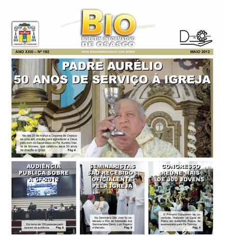 [Bio Diocesano Maio 2012]