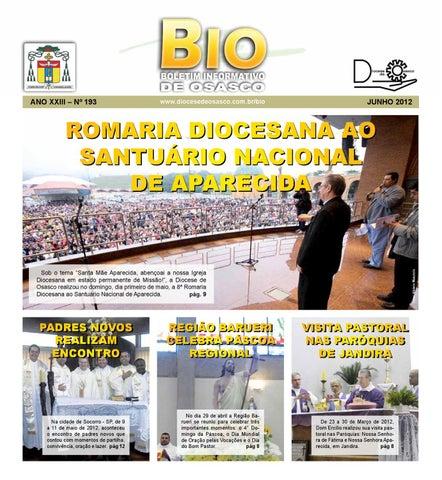 [Bio Diocesano Junho 2012]