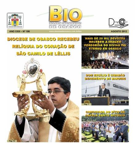 [Bio Diocesano Agosto 2012]