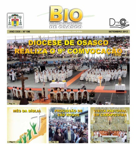 [Bio Diocesano Setembro 2012]