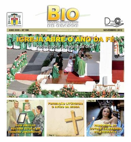 [Bio Diocesano Novembro 2012]