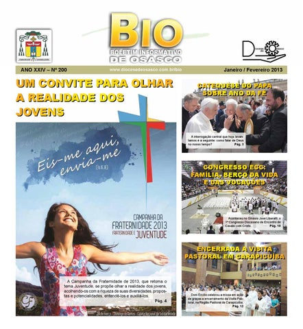 [Bio Diocesano Janeiro/Fevereiro 2013]