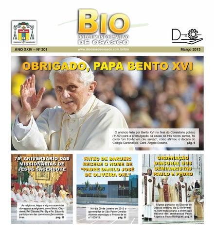 [Bio Diocesano Março 2013]