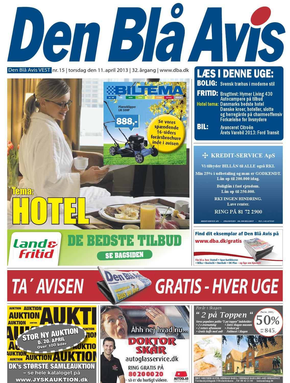 Den Blå Avis VEST 15 2012 by Grafik DBA issuu