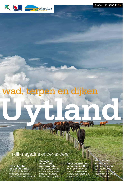 Regio magazine nwf waddenland uytland by tourist info fryslân   issuu