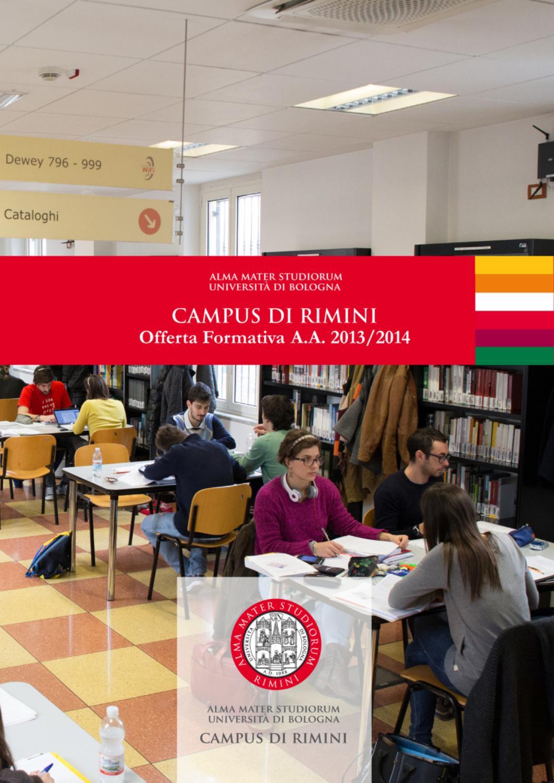Offerta Formativa del Campus di Rimini A.A. 2013/2014 by ...