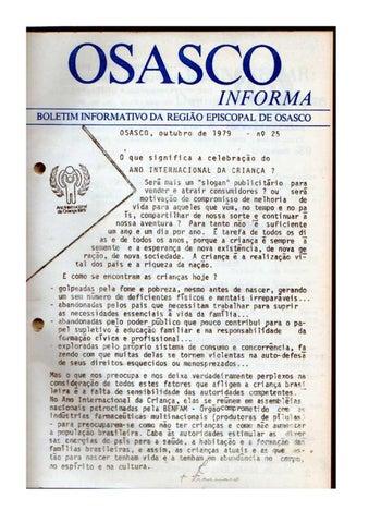 [Bio Região Episcopal Osasco Outubro 1979]
