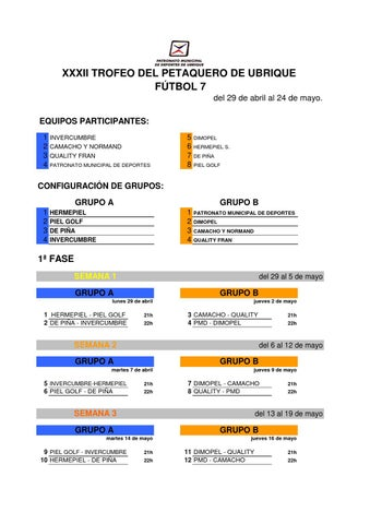 Trofeo del Petaquero 2013