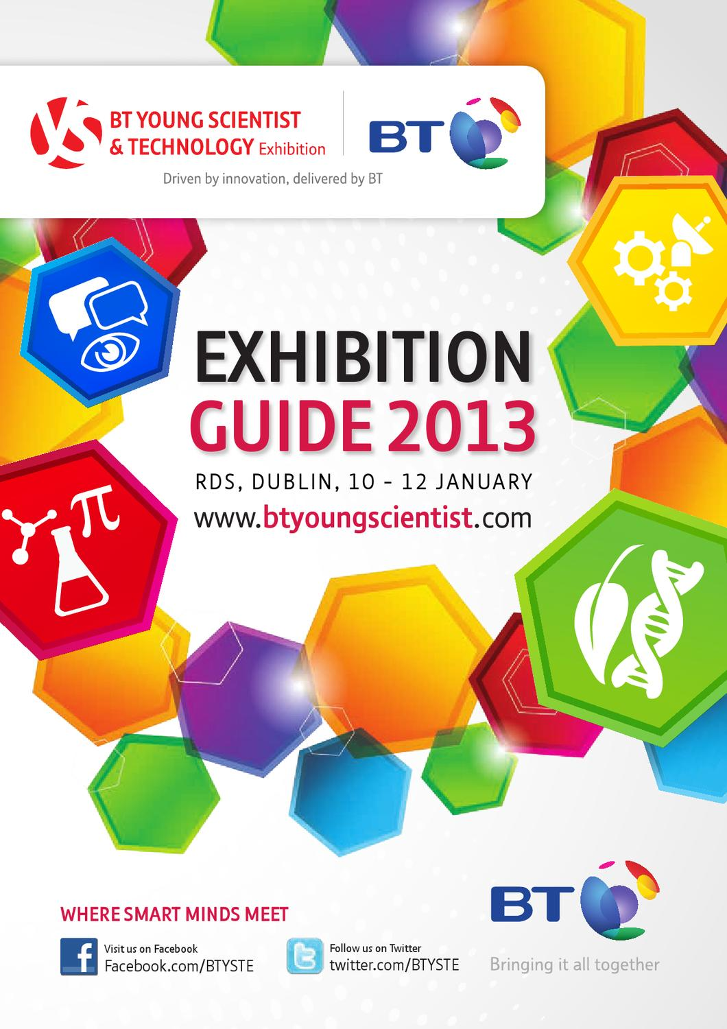 2013 Exhibition Guide By BT Young Scientist Issuu