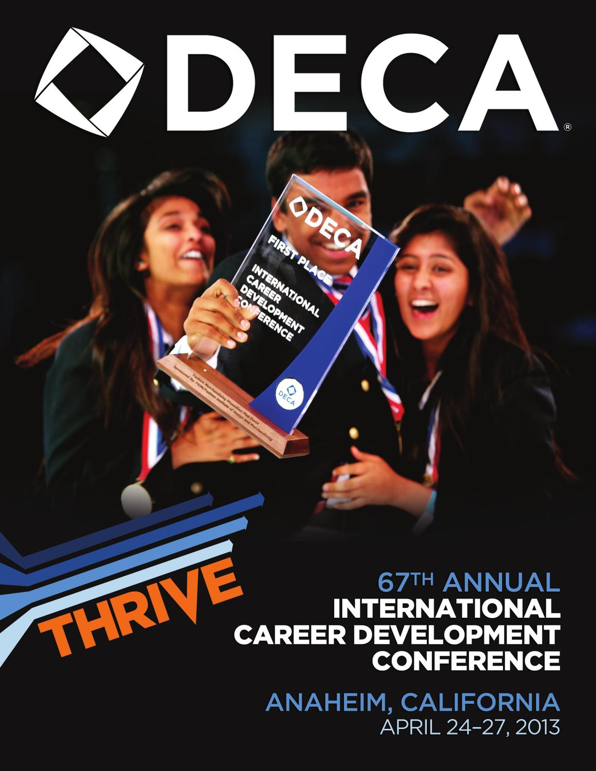Deca 2013 international career development conference Associates degree in fashion design online