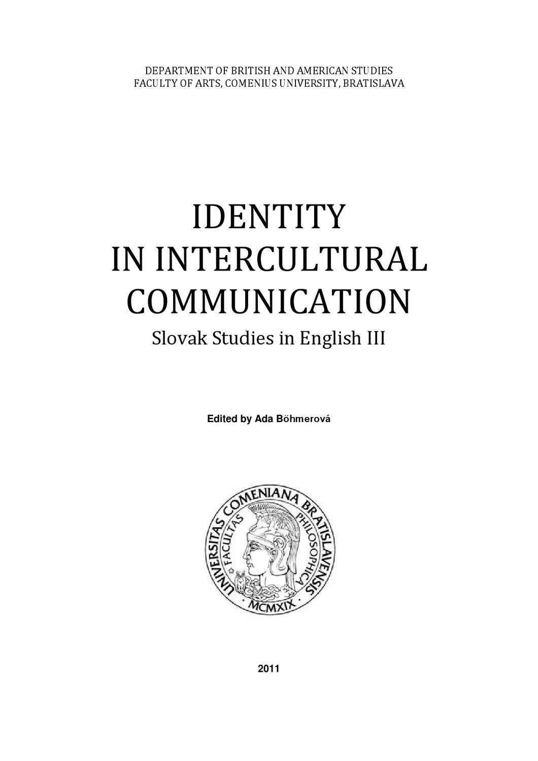 Intercultural communication term paper