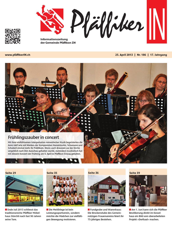Pf ffikerin april 2013 by schellenberg druck ag issuu for Innendekoration pfaffikon zh