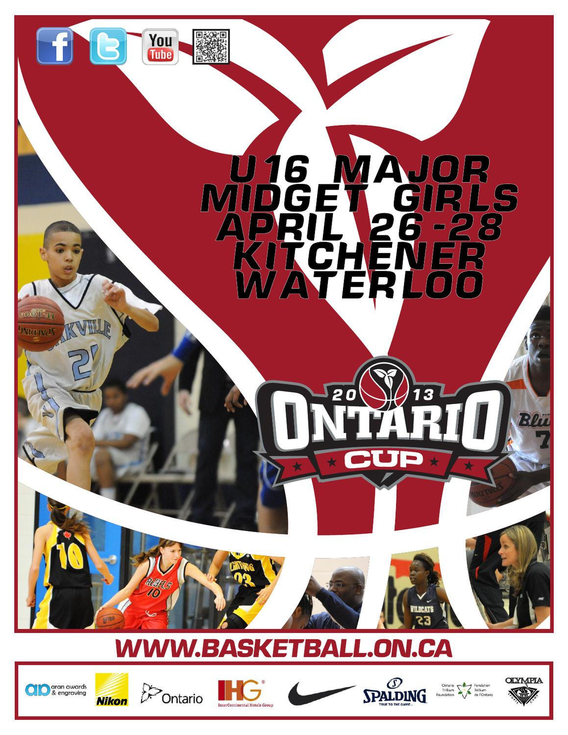 u major midget girlontario cup programme by jason jansson issuu
